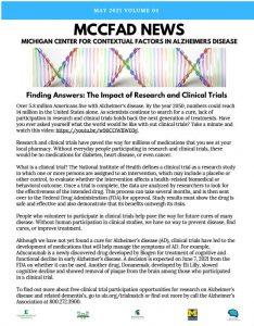 MCCFAD News